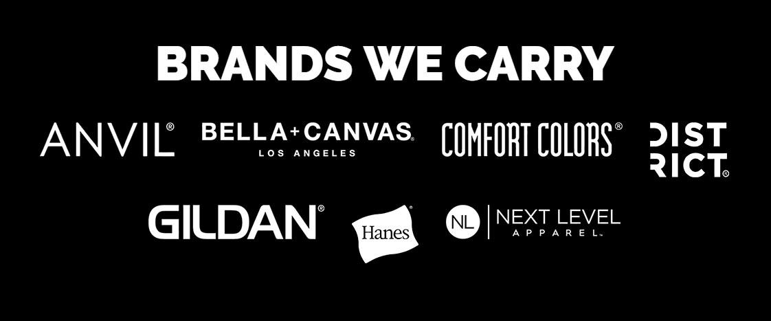 T-Shirt Brands We Carry