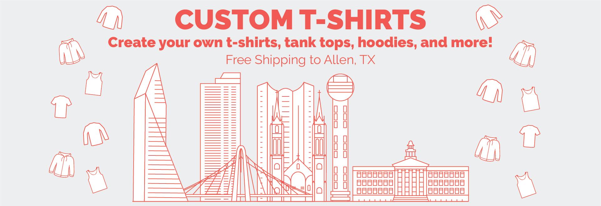 Custom Shirts No Minimum Free Shipping - DREAMWORKS