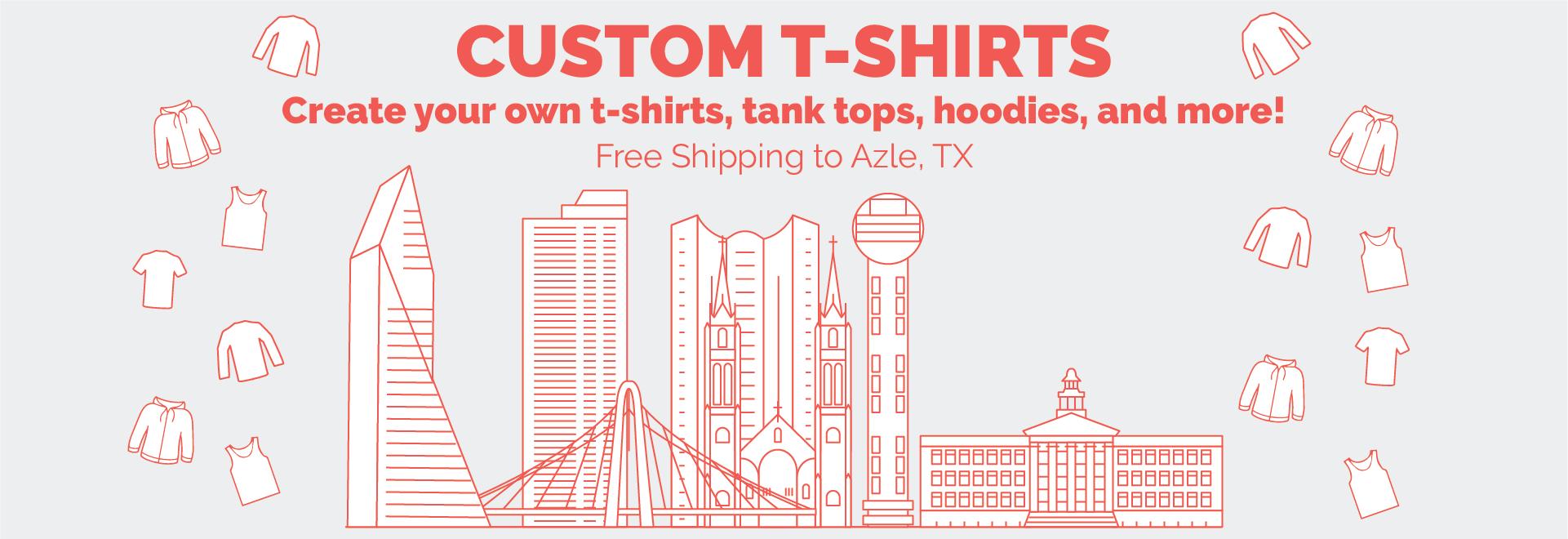 Line Art of Dallas Skyline -