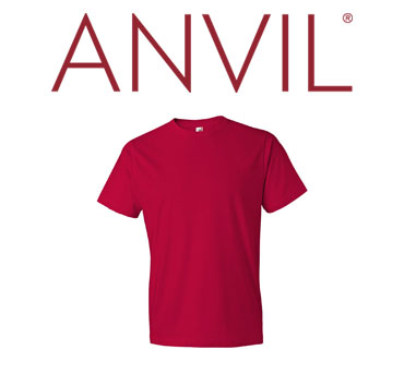 Red Anvil brand t-shirt