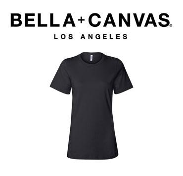 Black Bella+Canvas brand t-shirt