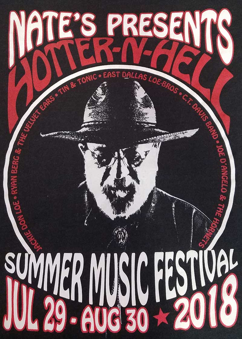 custom black shirt - Summer Music Festival
