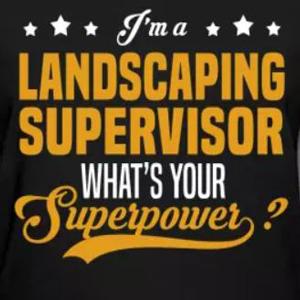 Custom landscaping business t-shirt design