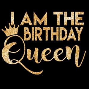 Custom birthday queen shirt