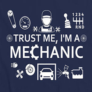 Custom mechanic t-shirt design