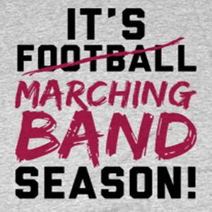 Custom marching band shirt design