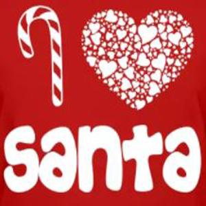 Christmas Santa custom t-shirt design