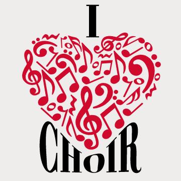 Choir custom t-shirt design